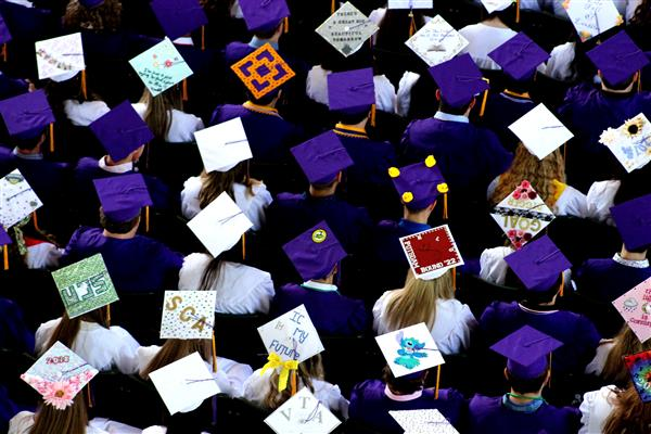 BSHS Graduation Caps in June 2018